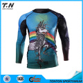 Professional UV Protected Custom Made Sublimation Rash Guards
